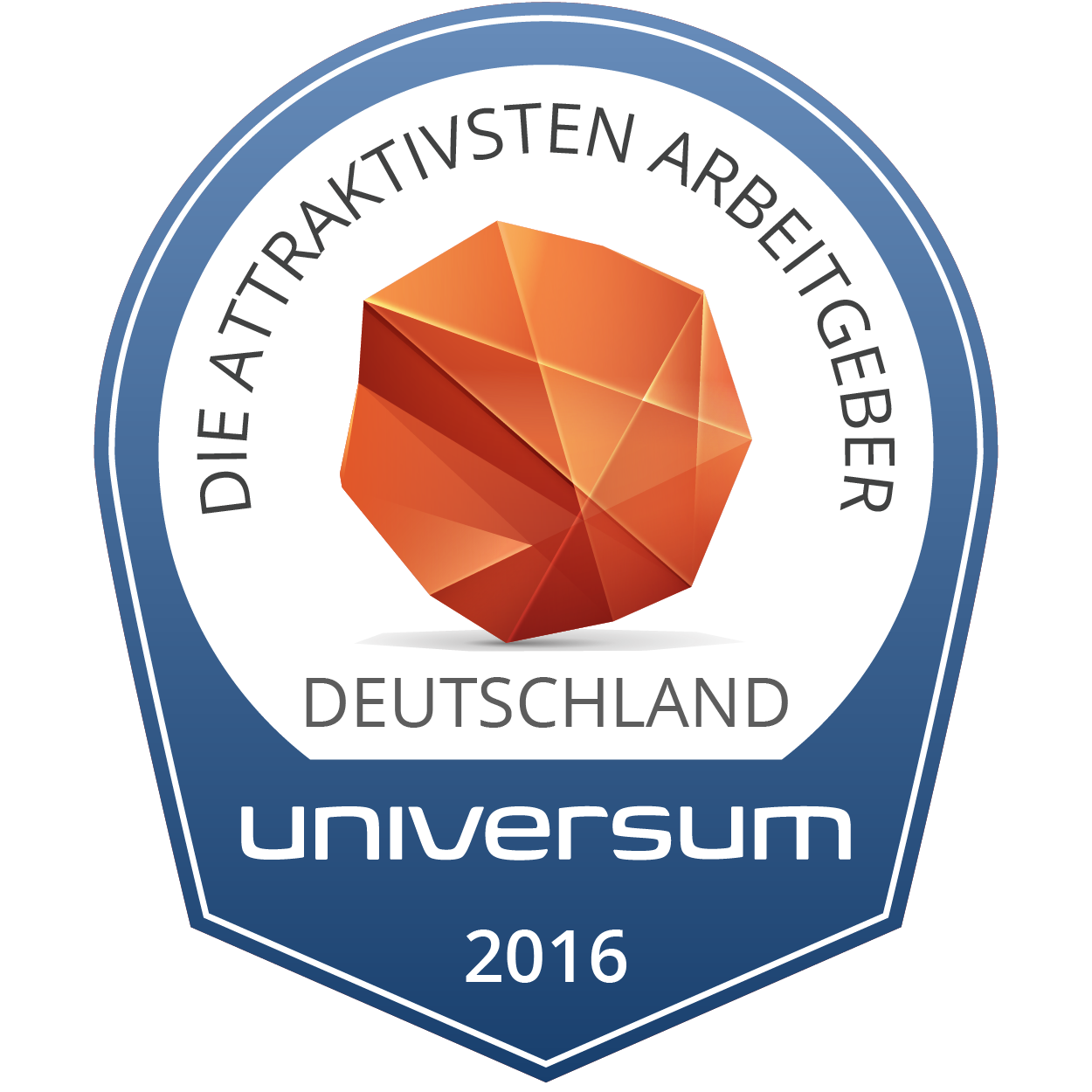 Universum Prof Badge 2014