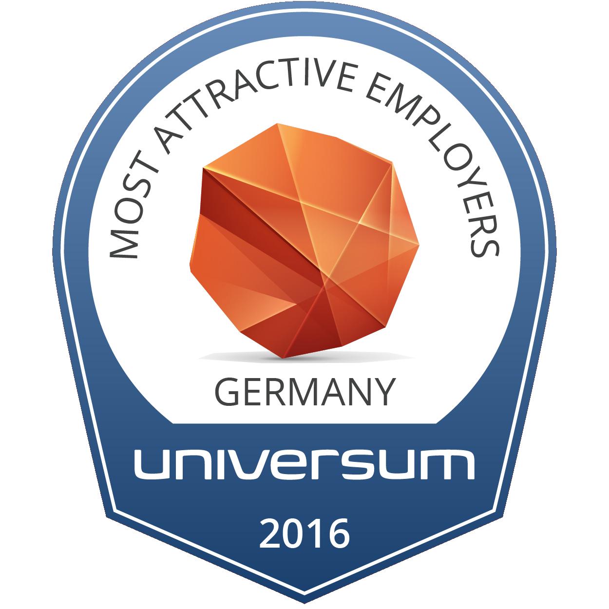 Universum Prof Badge 2014
